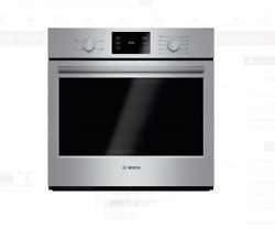 Bosch 500 Series 30 Stainless Steel Single Electric Wall Oven Hbl5351uc