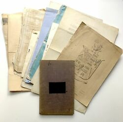 Captain Adderley Sleigh / Collection Of Published And Manuscript Material