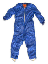 Russian Cosmonaut Warm Coveralls Tzk-14 To Protect From Cold Upon Landing 8