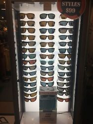 Unsinkable Sunglasses 42 Pair Of Unsinkable Sunglasses With Display Tank