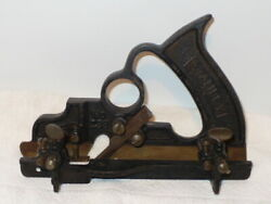 Antique Stanley 238 Woodworking Plane With Sweetheart Cutter Euc-see Photos