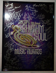 Signed By Bill Withers Ll Cool J Sy Smith, Others -ascap Rhythm Soul Poster 2006