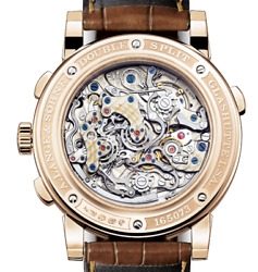 A. Long And Söhne 404.032 Double Split Flyback Watch Rose Gold Comp