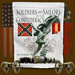 Soldiers And Sailors Monument Gettysburg, Paamerican Civil War Themed Yard Flag