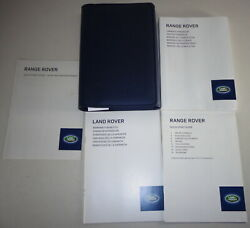 Document Kit + Manual Owner's Manual + Wallet Range Rover Stand 2012