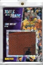 2013 Kobe Bryant Panini Expo Tools Of The Trade 1/1 Basketball Swatch Lakers