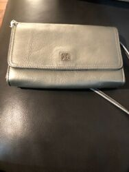 GIANNI BERNINI PEBBLE PEWTER CLUTCH MSRP: $59.00 $29.00