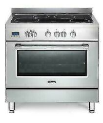 Delonghi Pro96mxined Cuisine Table Induction Four Picture Pizza 90x60 Inox