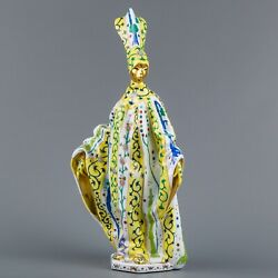 Herend Siang Jaune Pattern Carnival Woman Figurine Limited Edition Masterpiece