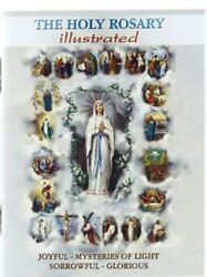 The Holy Rosary - Illustrated -mini Booklet Hr-03