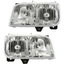 Headlight Lamp Left-and-right 15738657 15738658 Lh And Rh For Gmc Yukon Escalade