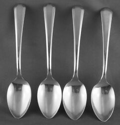 Lot Of 4 Wm Rogers And Sons Lincoln Demitasse Spoons Four