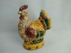 Ceramic Chicken Large 11quot; Vintage Collectible