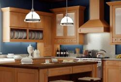 Forever Mark Kitchen Cabinets Shaketown Gold Collection 10x10 All Wood Ak11