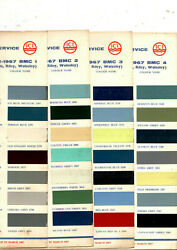 1958 1959 1960 1961 1962 1963 1964 To 1975 Austin Mg Morris Paint Chips Ici 78pc