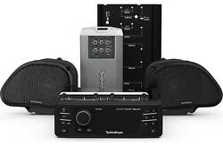 Rockford Fosgate Hd9813rg-stage2 Source Unit And Two Speakers Kit