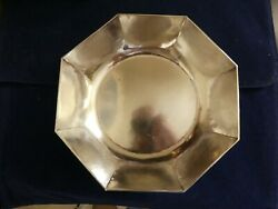 The Kalo Shops Chicago And New York Sterling Hand Wrought Arts And Crafts Bowl C1912