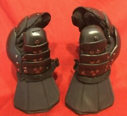 Heavy Armored Full Gauntlets by Superior HEMA WMA SCA Medieval Upgraded Thumb