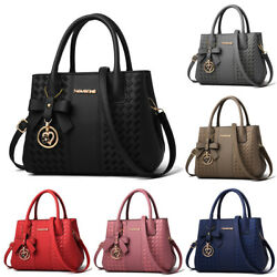 Women Leather Handbag Shoulder Bag Crossbody Tote Hobo Lady Messenger Satchel $20.99