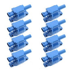 Quality Ignition Coil 8pcs For Buick Cadillac Chevy Gmc Hummer Pontiac Saab Blue