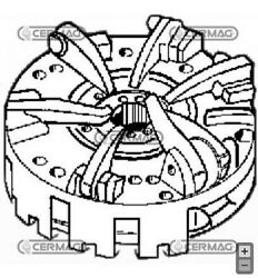 Mechanism Clutch Case For Tractor Agricultural Jx90 95 1070u 15786