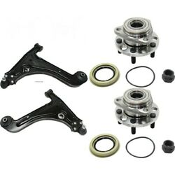 Control Arm Ball Joint Suspension Kit 4-pc Set Of 4 Front Left-and-right Lh And Rh