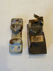 1955 - 1959 Chevy Gmc Truck And Suburban Door Striker Nos Right Side 3753186