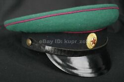 Daily Pv Frontier Guards Cap M58 Officer Cap Soviet Union Red Warrior 1958 Sz.56