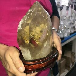 Strong Color Citrine Crystal Top Quality 2.7 Kg / 6 Lbs Offers Welcome
