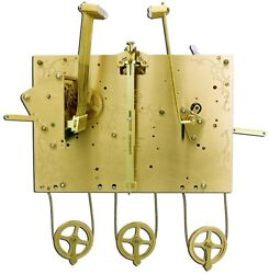 Hermle Grandfather Clock Movement 1171-850/100cm Triple Chimer Only For Project