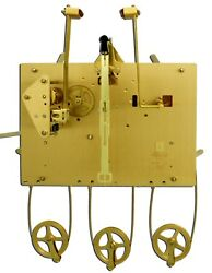 Hermle Grandfather Clock Movement 1161-853/94cm Triple Chimer Only For Project