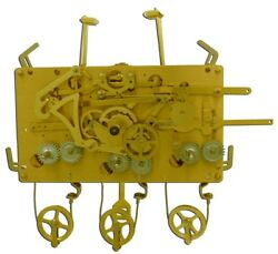 Urgos Grandfather Clock Movement Only Uw03123 For Project