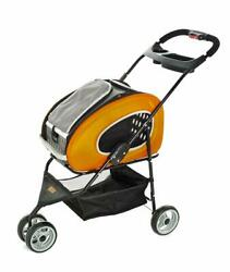 Pet Stroller Rolling Combo 5 For Dogs And Cats Ferribiella