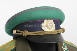 M58 Pv Frontier Guards Major Officer Cap 1958 Year Size 57 Soviet Army