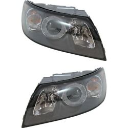 Headlight Lamp Left-and-right Vo2503117 Vo2502117 313352163 313352155 Lh And Rh