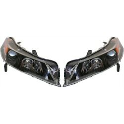Hid Headlight Lamp Left-and-right Hid/xenon Ac2519118 Ac2518118 Lh And Rh For Tl