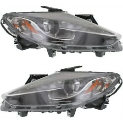 Hid Headlight Lamp Left-and-right Hid/xenon Ma2519159 Ma2518159 Lh And Rh