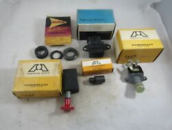Vintage Lot Of Nos Car Parts 1970and039s 1980and039s Chevy Plymouth Dodge Cadillac Pontiac