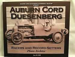 Auburn Cord Duesenberg Racers And Record-setters Photo Archive