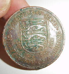 1960 1/12th One Twelfth Of Shilling Coin 300th Anniversary Accession Charles Ii