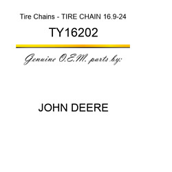 John Deere 16.9 X 24 Duo Grip Tire Chains Part Number Ty16202