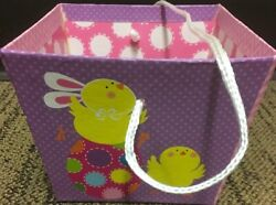 Lot 4@ Easter Treat/gift Boxes- Bunny And Egg Decorations- 4x5 Fast Shipping Inc