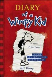 Diary of a Wimpy Kid Book 1 Hardcover By Kinney Jeff GOOD