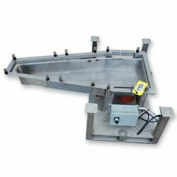 Used Lgh Stainless Steel Vibratory Feeder - 14andquotw X 46andquotl