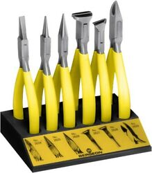 Bergeon Jewelry/watch Tool Assortment Of 6 Pliers 6283 For Project