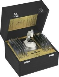 Bergeon Stacking Tool With Base And With 100 Punches And 20 Stakes