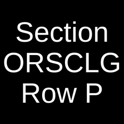 4 Tickets Hamilton 52420 Southam Hall at National Arts Centre Ottawa ON