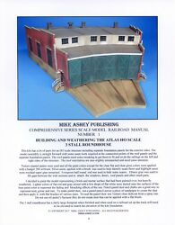 Atlas Ho Scale 3 Stall Roundhouse Pdf Model Manual-ignore Local Pickup