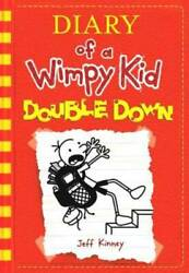 Diary of a Wimpy Kid # 11: Double Down Hardcover By Kinney Jeff VERY GOOD