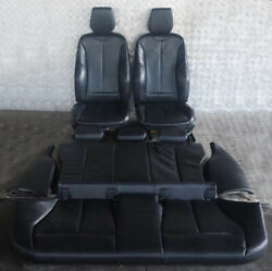 Bmw 1 Series F20 Lci M Sport Black Leather Interior Seats With Door Cards